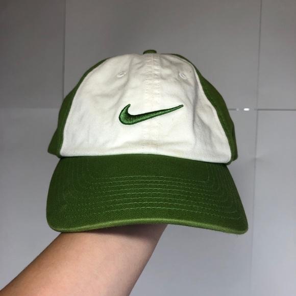 Vintage Green Nike Golf Hat